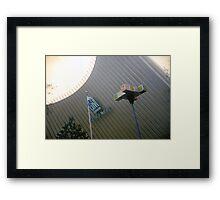 Facade GM Futurama Framed Print
