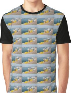 Fishing nets and boats, Agistri Graphic T-Shirt