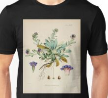The botany of the Antarctic voyage of H M  discovery ships Erebus and Terror in the Years 1839 1843 Joseph Dalton Hooker V1 028 Unisex T-Shirt