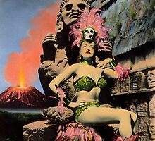 La Diosa del Fuego / The Fire Goddess by Bill Blair