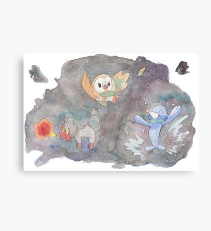 POkemon Sun and Moon  Canvas Print