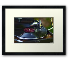 That old time music Framed Print