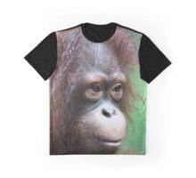 Orangutan in Borneo Graphic T-Shirt