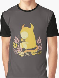Monster and Tea Graphic T-Shirt
