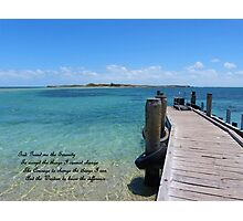 The Serenity Prayer Photographic Print