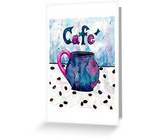 Coffee Coffee Coffee Greeting Card