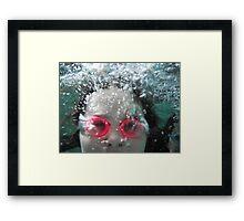 Bubbles by Respite Artwork Framed Print