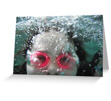 Bubbles by Respite Artwork Greeting Card