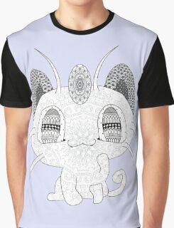 Pokemon Meowth Graphic T-Shirt