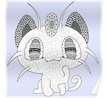 Pokemon Meowth Poster