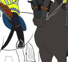 London Metropolitan Horse Cops Sticker