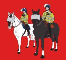 London Metropolitan Horse Cops One Piece - Short Sleeve