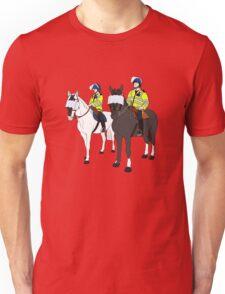 London Metropolitan Horse Cops Unisex T-Shirt