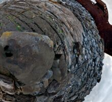 Shipwreck on Inisheer: The Plassey Wreck Sticker