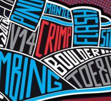 type shoe Sticker