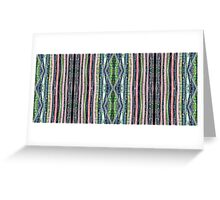 Bamboo Stripes Greeting Card