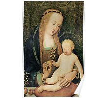 Virgin and Child with Pomegranate Poster