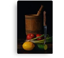 Cookery Canvas Print