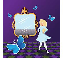 Alice Through the Looking Glass. Photographic Print