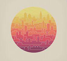 Skyline by thepapercrane