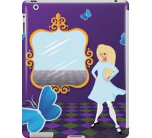 Alice Through the Looking Glass. iPad Case/Skin