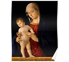 Madonna with the Child Blessing Poster