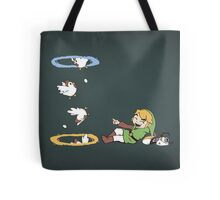 Thinking With Chickens Tote Bag