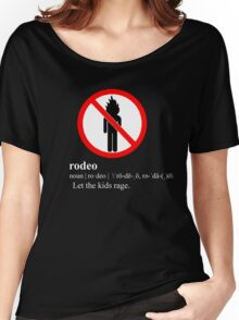 Rodeo Definition - Travi$ Scott Women's Relaxed Fit T-Shirt