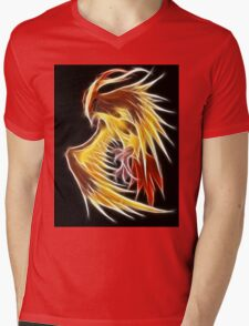 Pidgeot Mens V-Neck T-Shirt