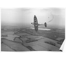 Battle of Britain Spitfire Poster