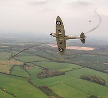Battle of Britain Spitfire by Gary Eason + Flight Artworks