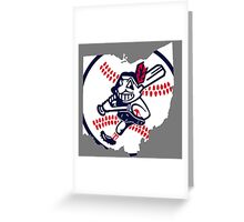 Cleveland Indians III Greeting Card