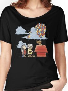 some Peanuts UP there Women's Relaxed Fit T-Shirt