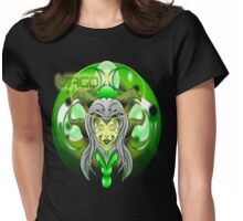 ZODIMANIACIA: VIRGO BUST Womens Fitted T-Shirt