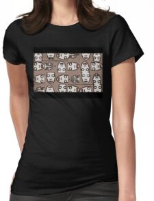 Drowning Matrix Womens Fitted T-Shirt