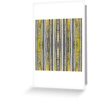 Birch Forest Pin Stripes Greeting Card