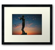 out of reality Framed Print