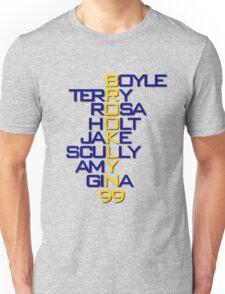 Brooklyn 99 Characters Unisex T-Shirt