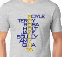 Brooklyn 99 Characters Unisex T-Shirt