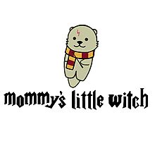 Mommy's Little Witch Photographic Print