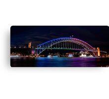 Vivid Bridge Canvas Print