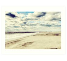 The Shore of Cape May Art Print