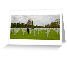 France - Normandy American Cemetery and Memorial Greeting Card