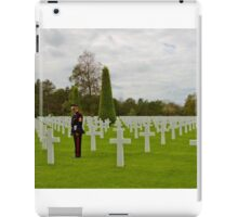 France - Normandy American Cemetery and Memorial iPad Case/Skin