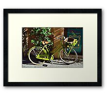 Green Cruiser Framed Print