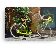 Green Cruiser Metal Print