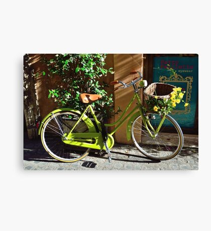 Green Cruiser Canvas Print