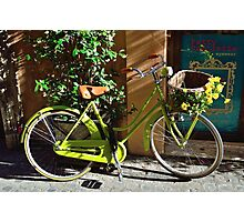 Green Cruiser Photographic Print