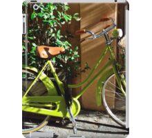 Green Cruiser iPad Case/Skin