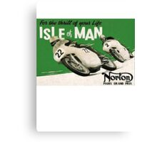 Isle of Man TT Canvas Print